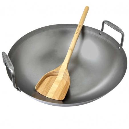 Uhlíkový oceľový wok