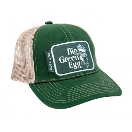Big Green Egg šiltovka zelená
